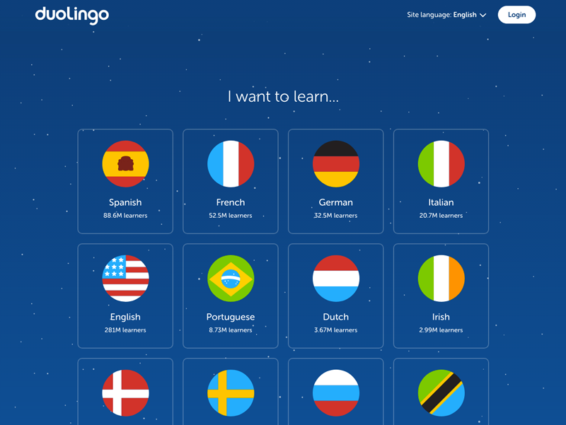 Duolingo ux design example