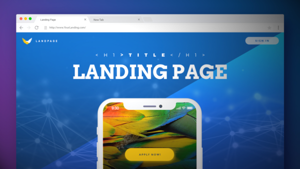 Cost of Landing Page Development