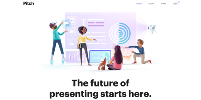 3D illustration - web design trends 2019