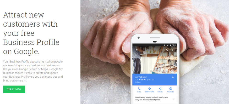 add your company to Google Maps using Google My Business