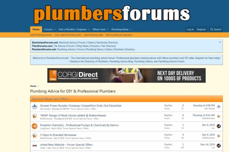 professional forums is good source of traffic
