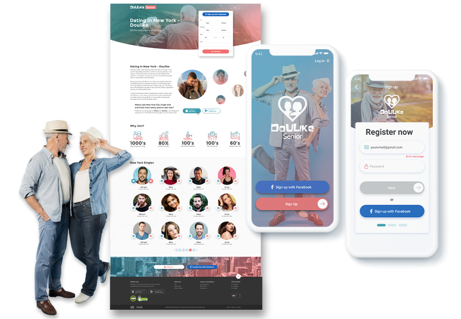 F5 Studio designers created design of iOS app for dating