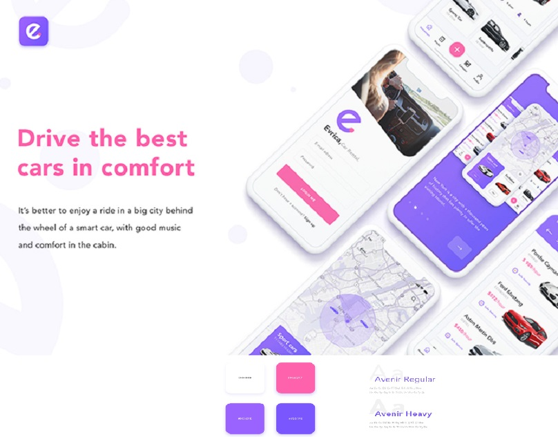 F5 Studio designers created a UI/UX design of a mobile app
