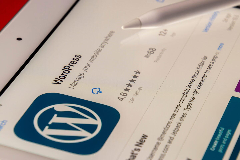 Installing WordPress process
